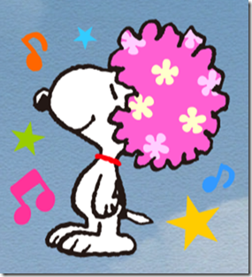 スヌーピーLINEスタンプ『SNOOPY★FUNNY FACES』